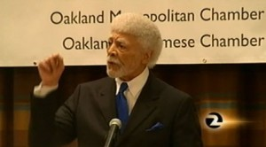 Dellums speaking